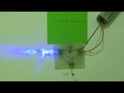 Automatic light sensor circuit [PCB] - YouTube