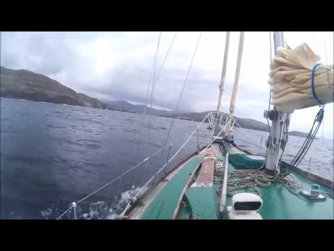 Approaching Pipers Sound Castletownbere , West Cork