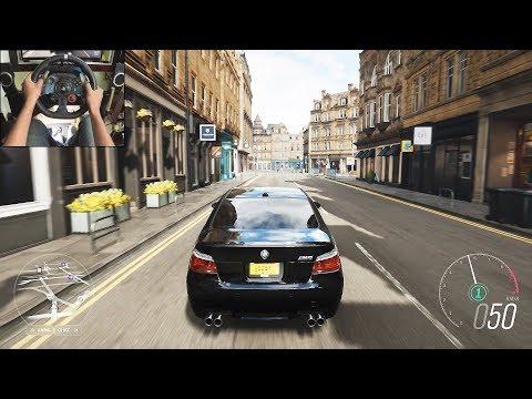BMW M5 E60 - Forza Horizon 4   Logitech G29 Gameplay