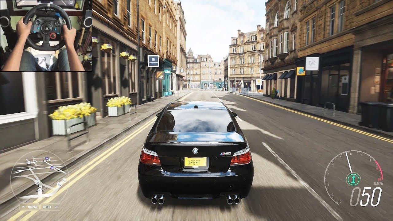 BMW M5 E60 - Forza Horizon 4 | Logitech g29 gameplay