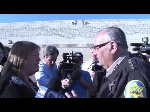Sheriff Joe Arpaio reacts to Jane Sanders Visit