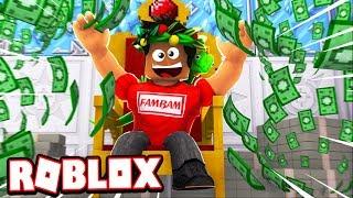 THE $1 MILLION ROBUX QUEST!!! (Roblox Cash Grab Simulator)