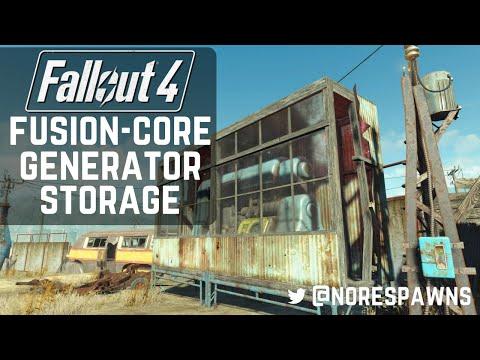 Fallout 4 Guide - Simple Fusion Core Generator Storage