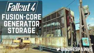 Fallout 4 Guide - Simple Fusion Core Generator Storage