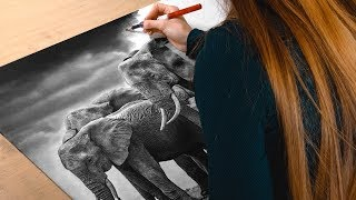 Drawing Elephants - The Circle of Life