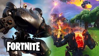 Fortnite Season 10 - Brute Mech Vehicle & Ultima Knight Skin Trailer