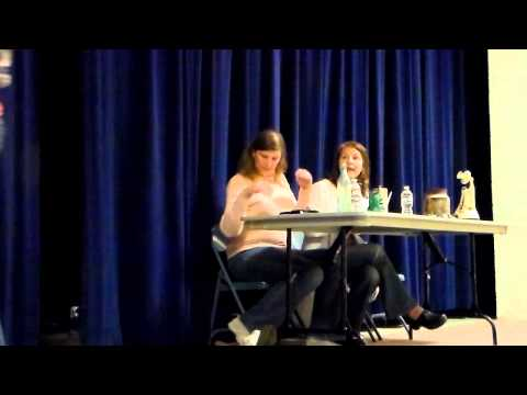Amelia Earhart School Visit: Cheri Pray Earl and Carol Lynch Williams (Part 1)