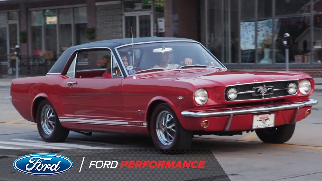 2018 woodward dream cruise 1965 ford mustang gt ford performance