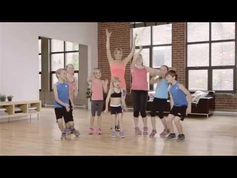 Allez hop on bouge DVD d'exercice pour enfants, par Karine Larose