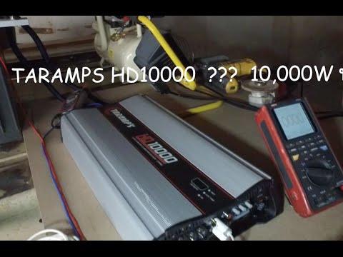 ใช้เพาเวอร์แอมป์ แทนเครื่องปั่นไฟ 10000w (ทำให้เห็นว่าPoweramp Tarampsมีกำลังขับมากจริงๆเท่านั้น)