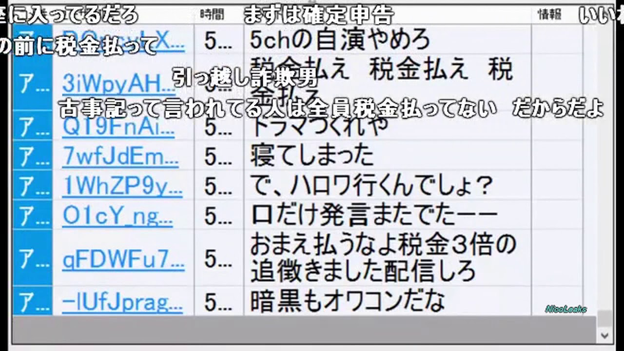 関慎吾」 七原くんはニコ生のマ...