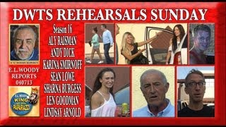 DWTS Sunday Rehearsals, The Bachelor last to leave W040713