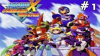 Mega Man X: Command Mission - Part 1: Lagrano Ruins