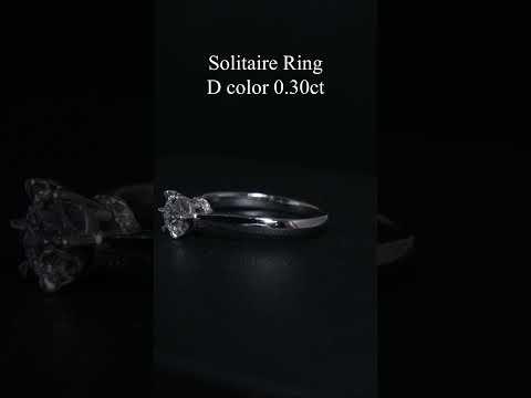 แหวนหมั้น แหวนแต่งงาน รุ่นเพชร 30 ตัง / แหวนเพชรชู เพชรสามสิบตัง