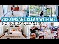 2020 EXTREME CLEAN WITH ME MARATHON   SUPER LONG CLEANING   ULTIMATE CLEANING MOTIVATION!!!