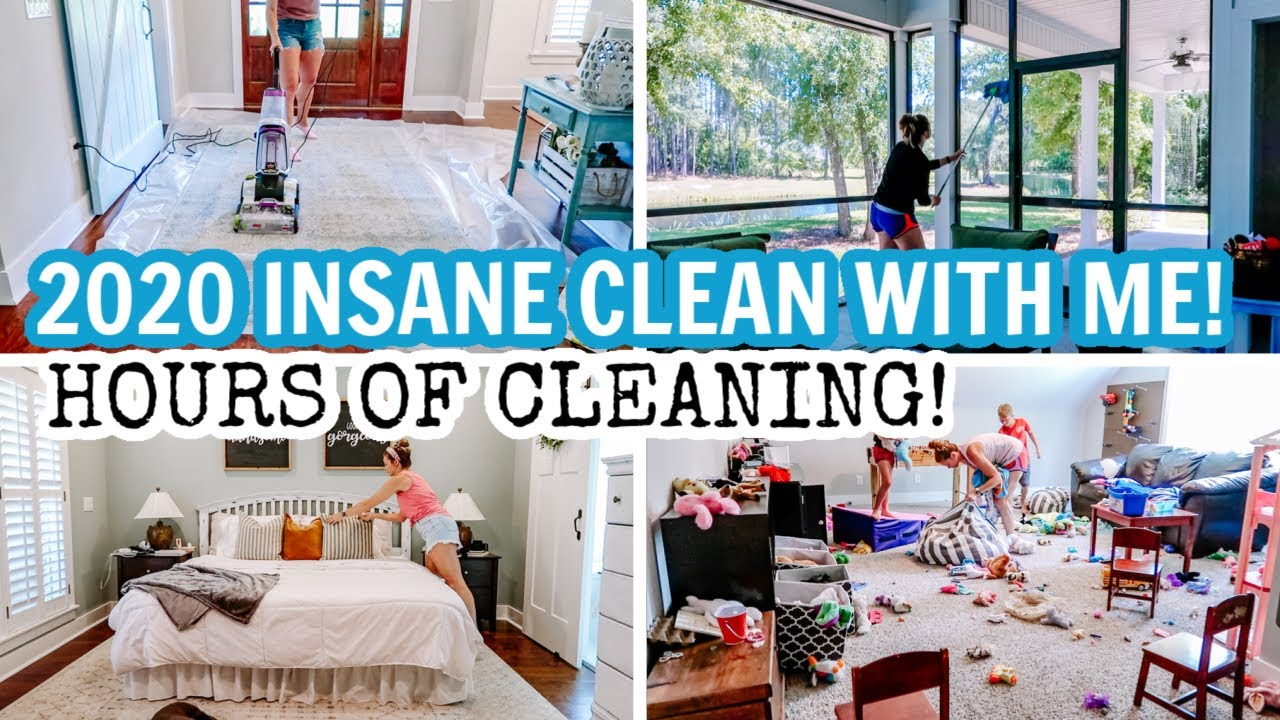 2020 EXTREME CLEAN WITH ME MARATHON | SUPER LONG CLEANING VIDEO | ULTIMATE CLEANING MOTIVATION!!!