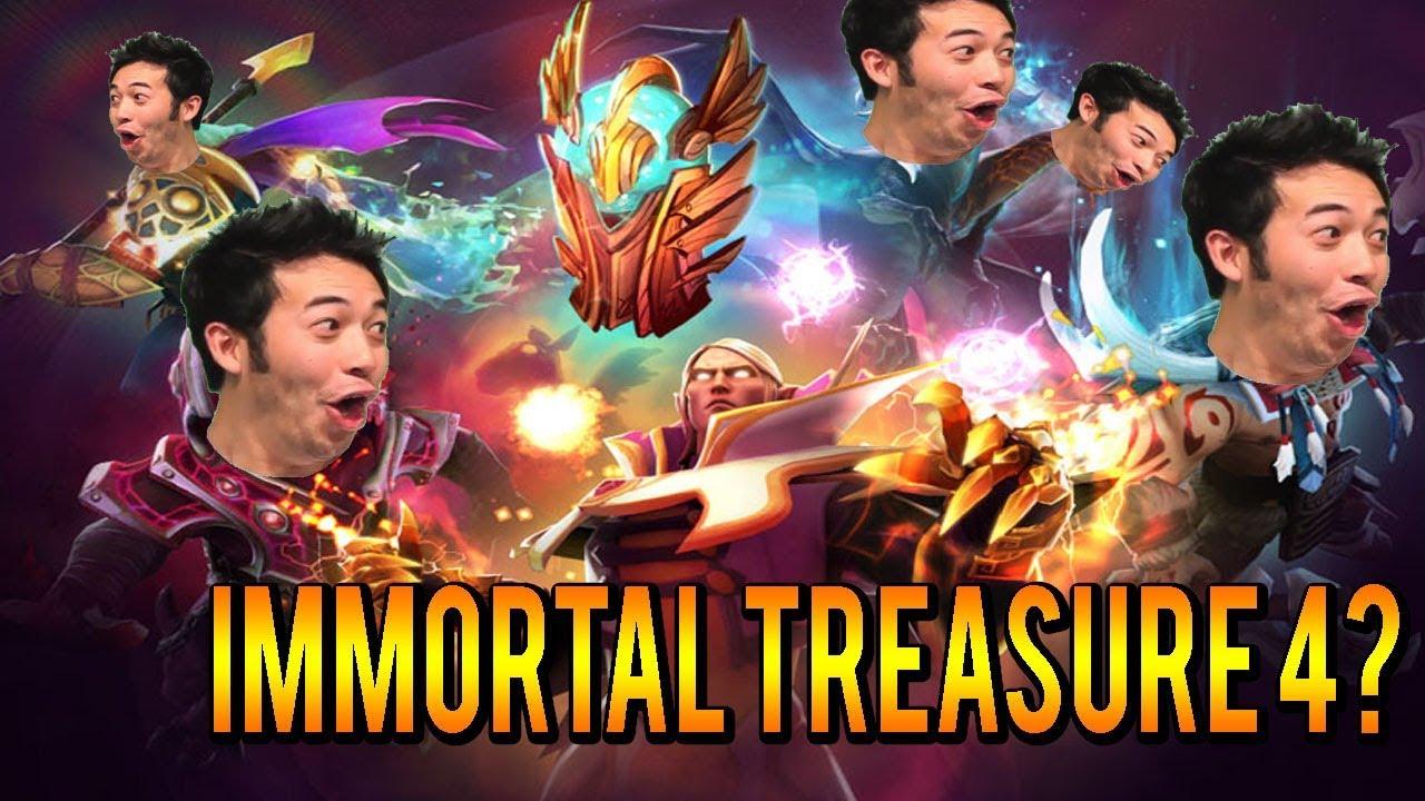 Dota 2 Ti7 Immortal Treasure I 2017 Chest Opening With: Dota 2 Trove Carafe 2017! Immortal Treasure 4? All Rares