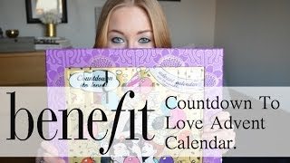 Benefit Cosmetics Countdown To Love Advent Calendar