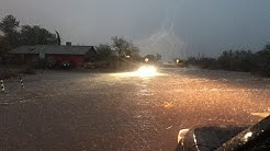LIVE from flash flood in Oro Valley, AZ! Then HABOOOOB!