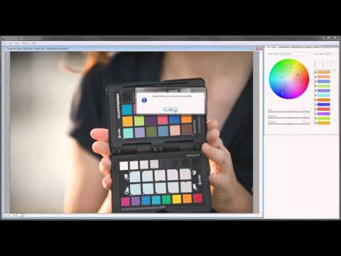 Using the McBeth Color Chart or the Xrite Color Checker for Photography tutorial