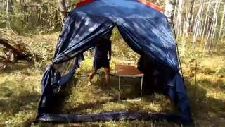 Обзор и установка шатра SOL Bungalow