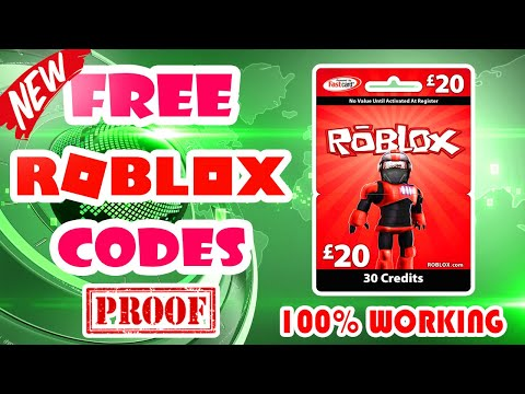 Roblox Giveaway Codes | Robux Live Codes - How To Get Robux Gift Card Code 2018 [real & Legit 100%]