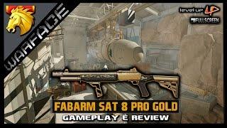 Warface Brasil : Fabarm Sat 8 Pro Gold - Gameplay e Review | Map: Sirius