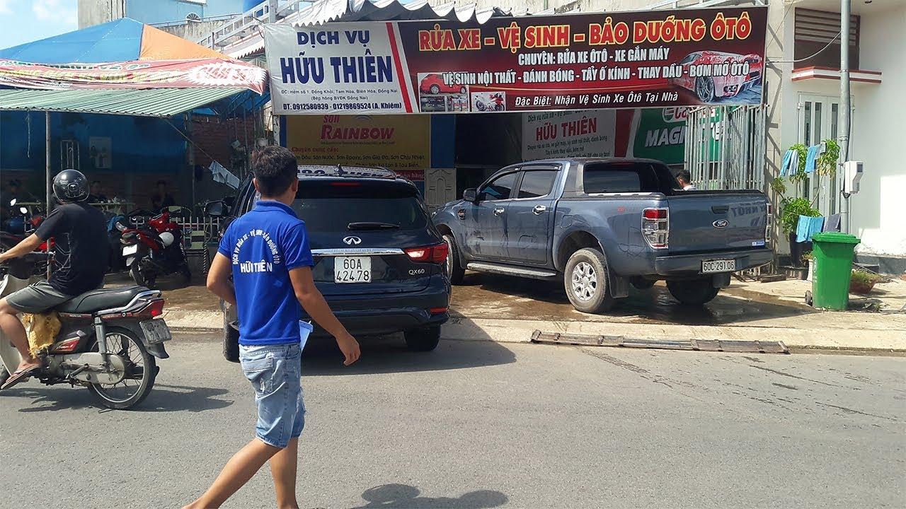 Tư vấn kinh nghiệm mở tiệm rửa xe ô tô thu lợi nhuận khủng tại Garage Hữu Thiên