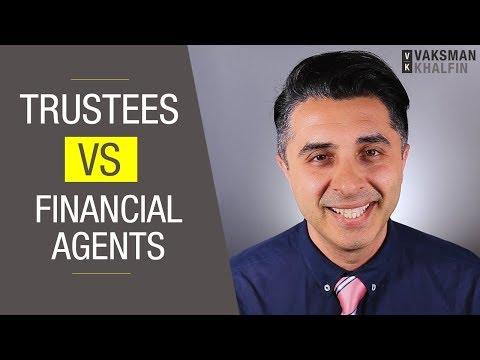 Trustees vs. Financial Agents
