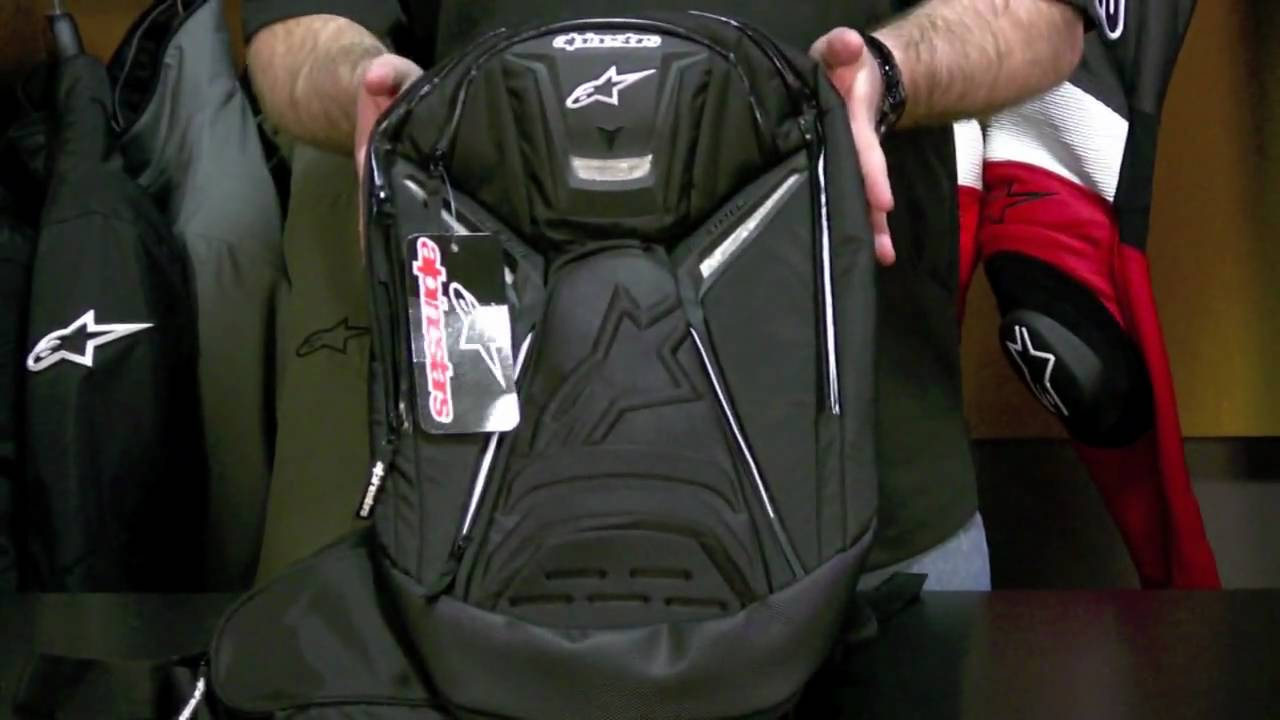 Alpinestars Tech Aero Backpack Review at RevZilla.com - YouTube