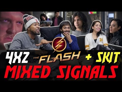 The Flash - 4x2 Mixed Signals - Group Reaction + SKIT!!!