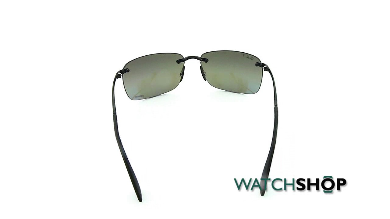 670c958e5e Ray-Ban Men s RB4255 Sunglasses (RB4255-601 5J-60) - YouTube