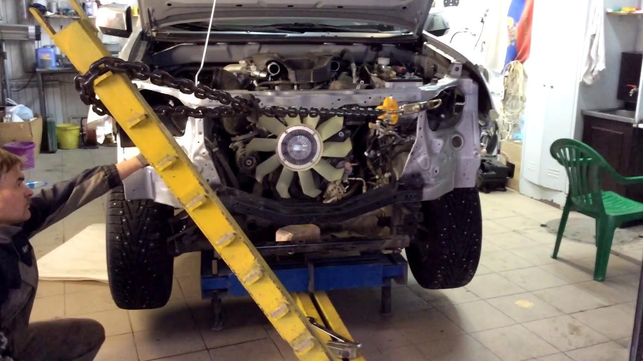 Стапель для кузовного ремонта. Кузовной ремонт Isuzu D MAX