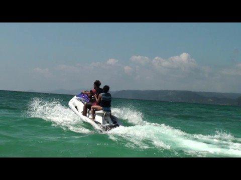 Nick And Armela Go Jet Ski Ing With Shogo San At Basyayama Beach