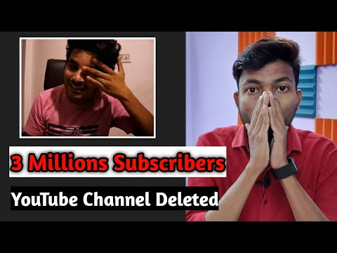 3.3 Million Subscribers Wala YouTube Channel Deleted/Suspended || आप ये गलती मत करना ?