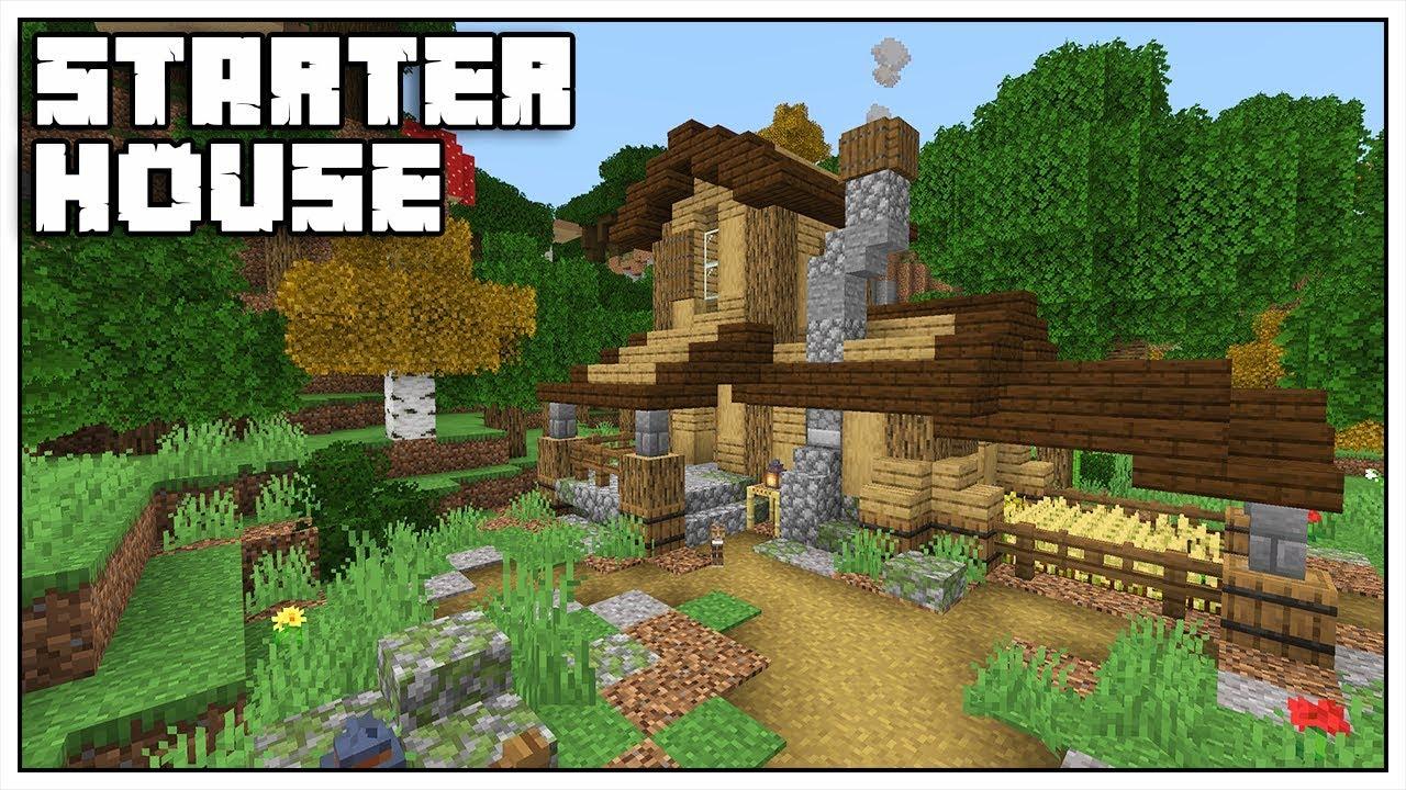 Minecraft 12.124 Starter House Tutorial