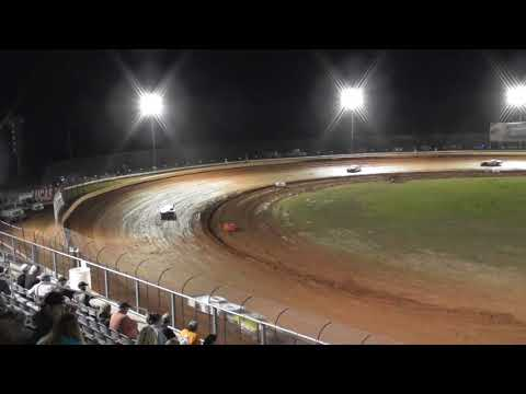 11yr old kid racing Mack10 SuperStreet feature race @Golden Isles Speedway 5-5-18