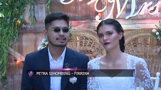 Video Pernikahan Petra Sihombing & Firrina Diwarnai Tangisan Haru download MP3, 3GP, MP4, WEBM, AVI, FLV Juli 2018