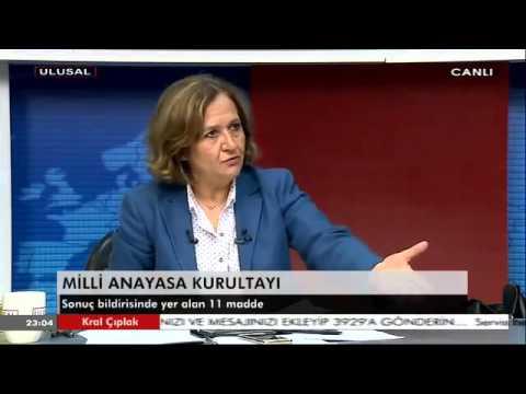 Prof. Dr. Birgül Ayman Güler, Ulusal Kanal, Kral Çıplak Programı (3), 01.04.2016