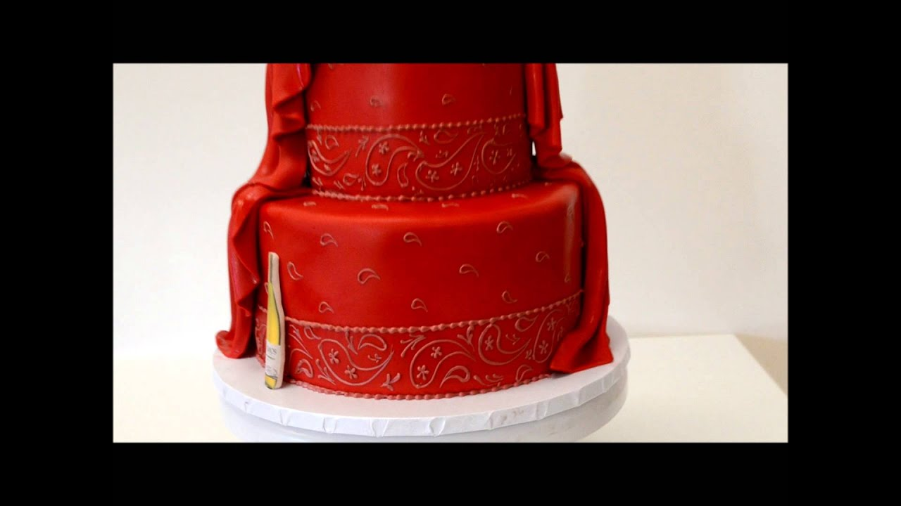 Bandana Design Cake YouTube