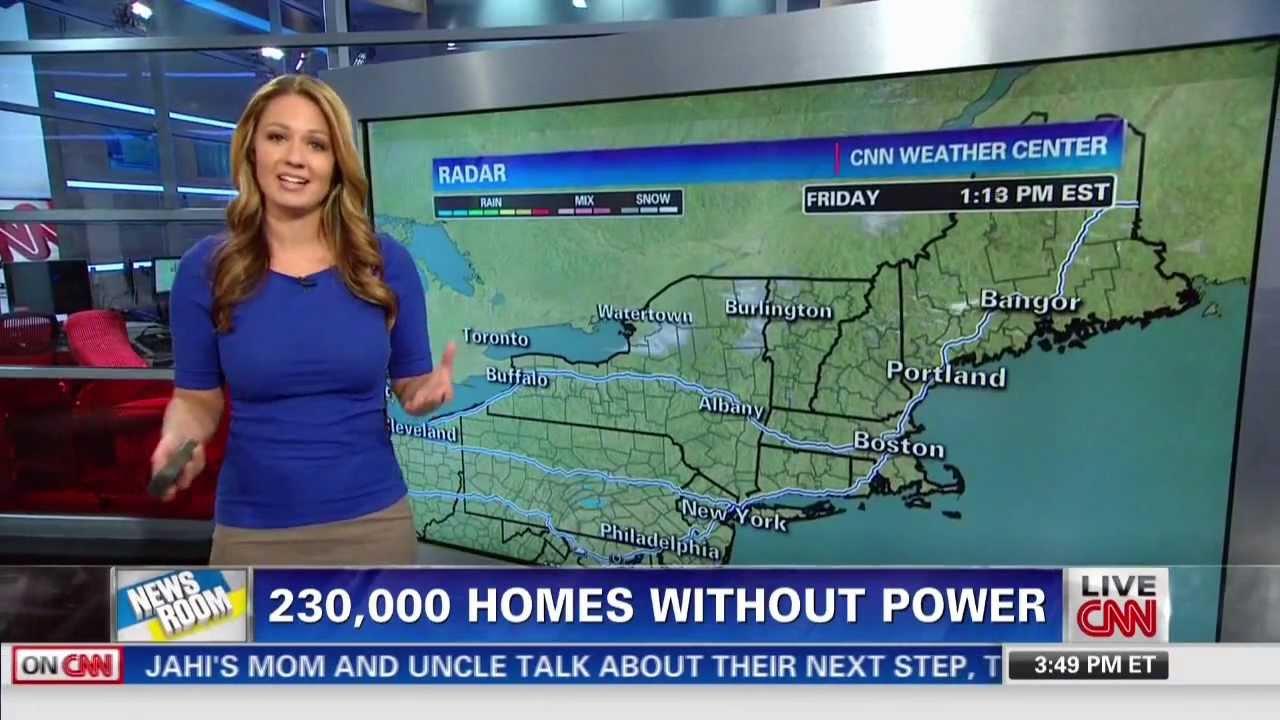 Jennifer Gray CNN Weather Babe 12-27-13 - YouTube