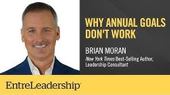 Why Annual Goals Don't Work | Brian Moran
