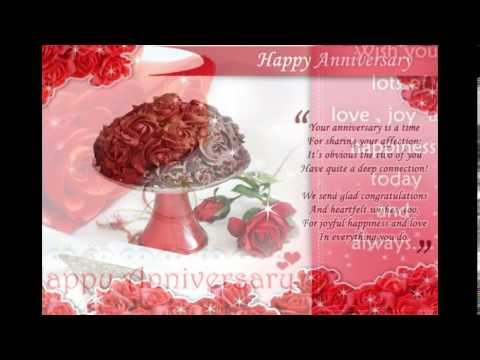 Wedding anniversary wishes youtube