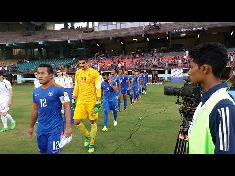 India vs Turkmenistan (1:2) 2018 FIFA World Cup qualification AFC