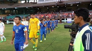 India vs Turkmenistan (1:2) 2018 FIFA World Cup qualification AFC