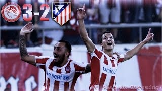 Video Gol Pertandingan Olympiakos vs Atletico Madrid
