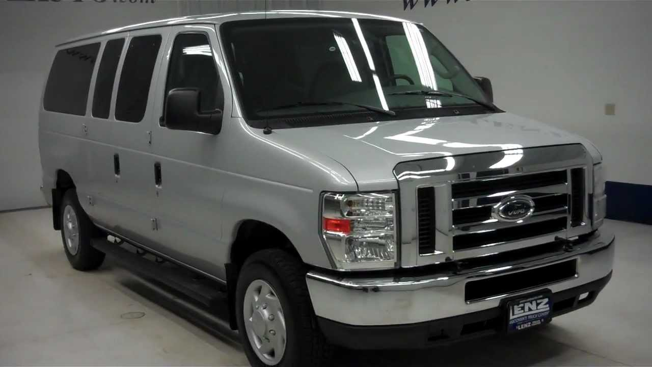 b6009j 2008 ford econoline wagon xlt 11 passenger advancetrac ww lenzauto com 15 497 youtube [ 1280 x 720 Pixel ]