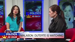 Politics as Usual:  Malabon: Duterte is watching