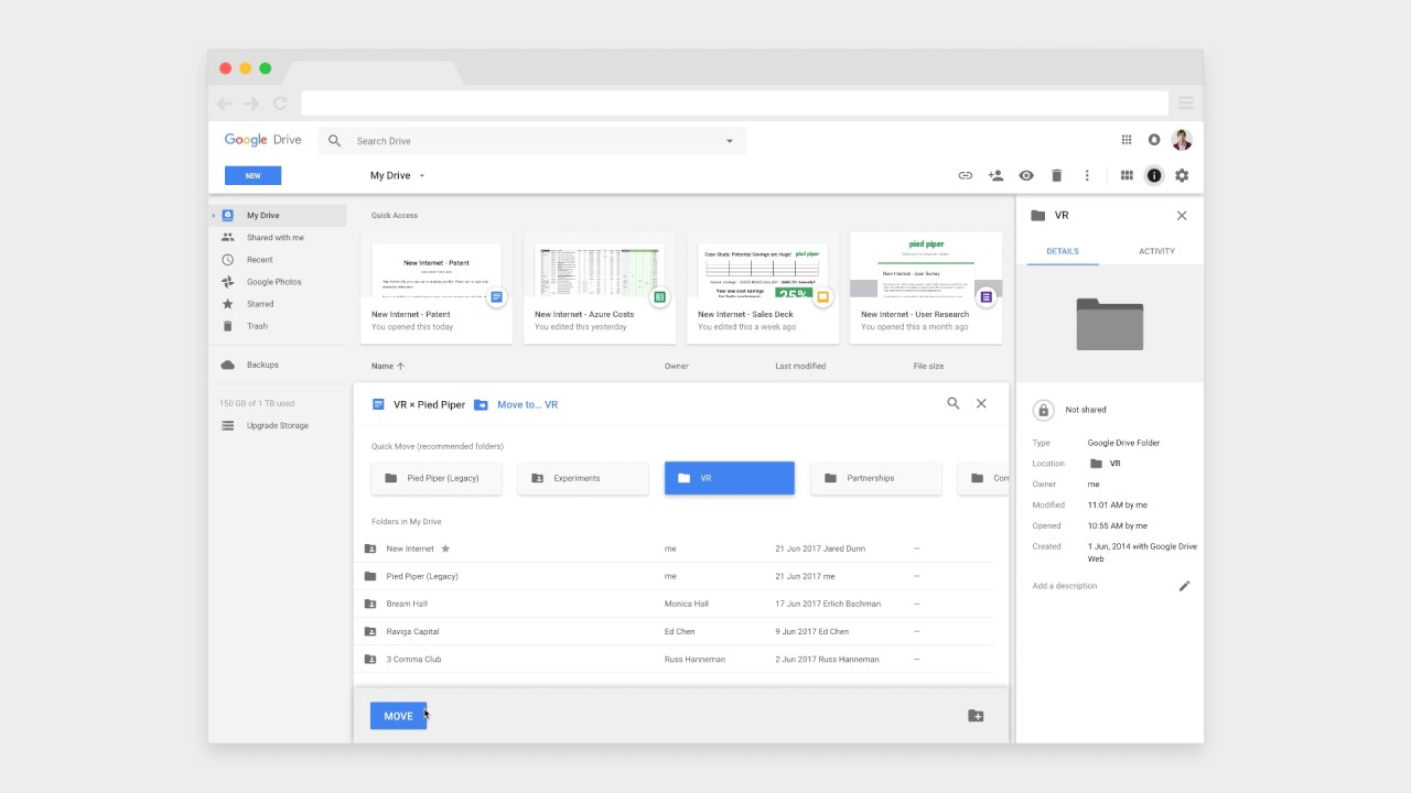 Rethinking Google Drive's