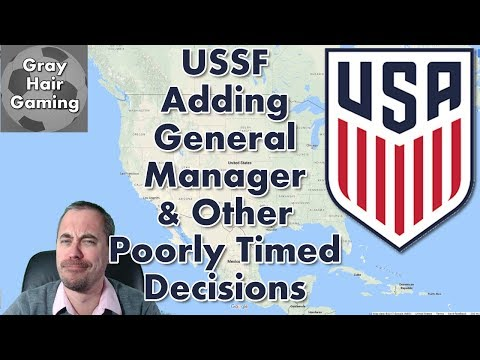 Are You Serious? US Soccer Federation Adding General Manager Role &